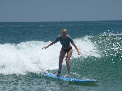 Sarah's surf lesson, El Remanso (19)