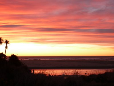 Sunrise, Purakaunui Beach 2