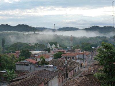 View from Hotel Guancascos, Gracias