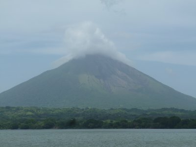 Volcan Concepion, Ometepe, from the boat