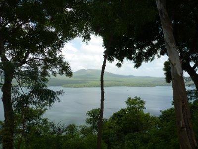 Volcan Santiago and Laguna de Masaya, Masaya
