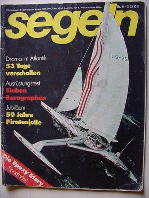 Frontpage Segeln