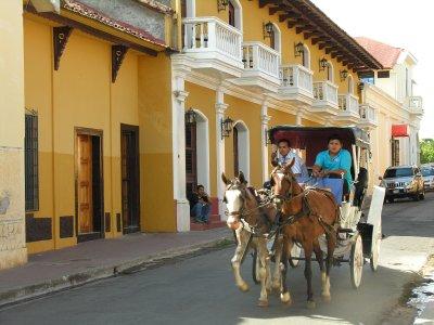 street sight in Nicaragua