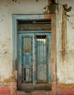 door at the old house