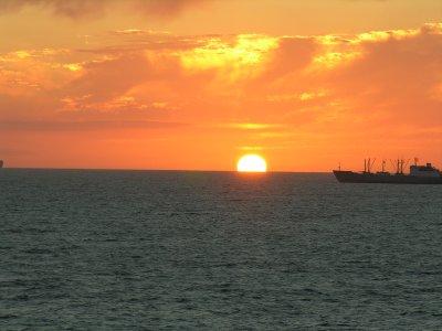Sunrise,Punta del Este