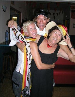 happy german fans