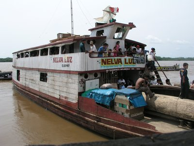 Amazon Riverboat