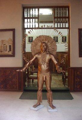 Museum entrance Iquitos/Peru