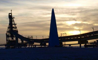 Obelisk at Saltpier