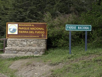 National Parque sign