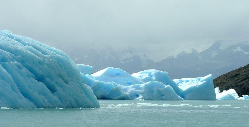 Icebergs at Lago Argentina
