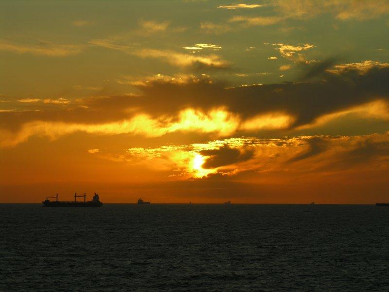 Sunrise at Punta del Este
