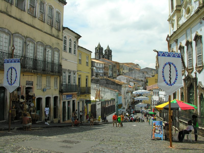 plaza in Salvador