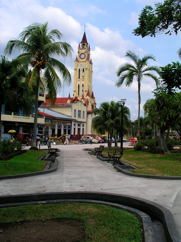 Plaza Major and historic Church