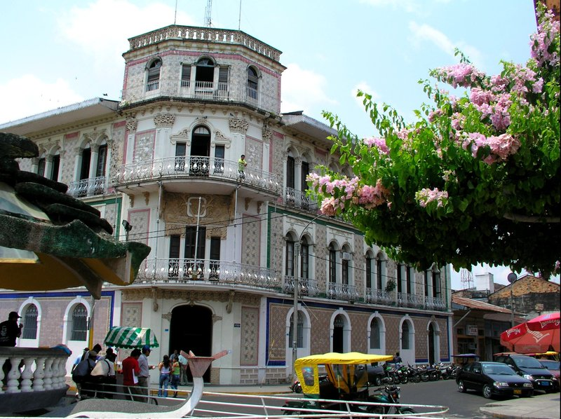 historic Building at the Malecon