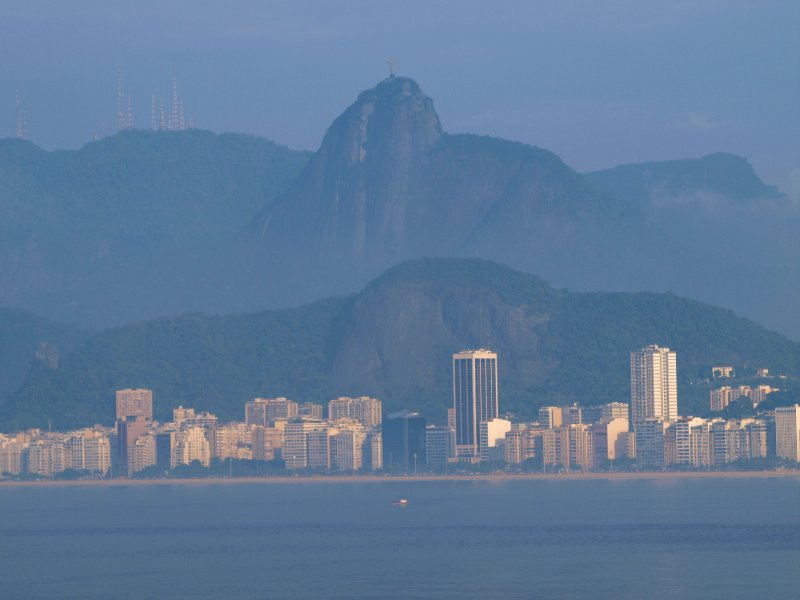 Rio,early  in the morning