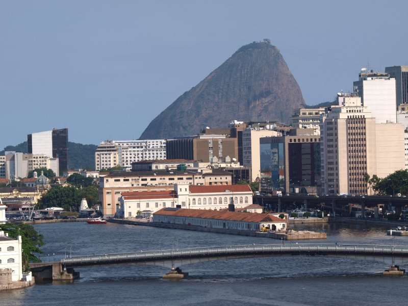 Rio ,harbour aerea
