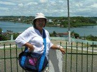 tourist shot