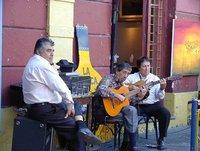 Tango at La Boca