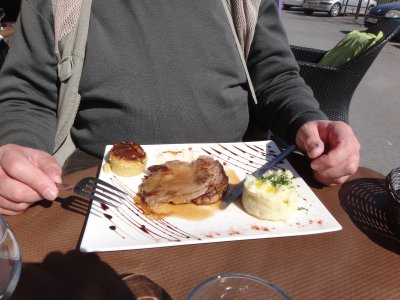 Lunch in Provence - Lamb