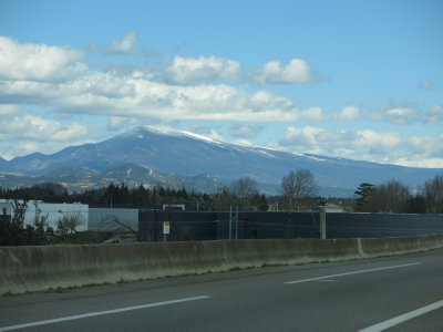 Mt Ventoux - as close as we're getting