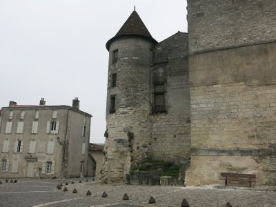Chateau on the Charentes at Cognac