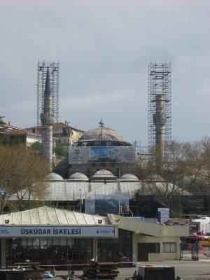 Istanbul Bosphorus Mosque Construction