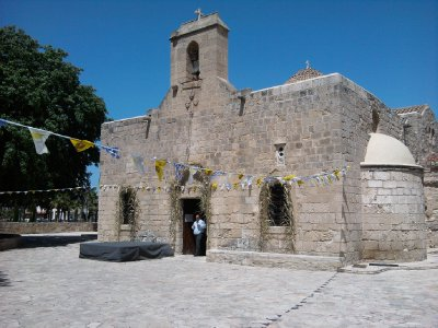 Kiti Cyprus Angeloktisti Chiesa Bizantina del XI