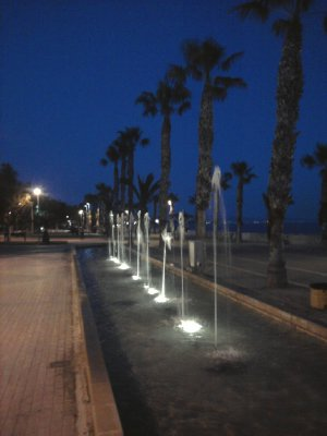 Limassol Cyprus Fountains