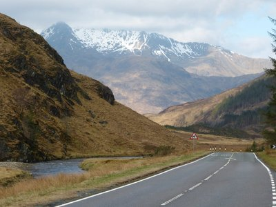 On the way to Skye