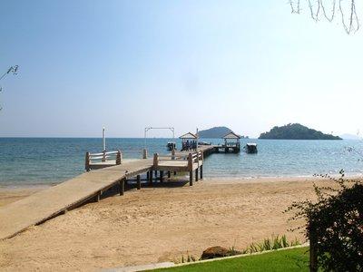 The pier on Koh Mak