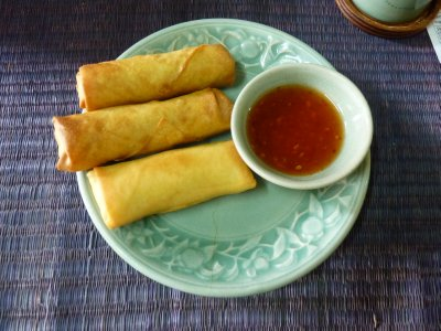 Spring Rolls - Made by me