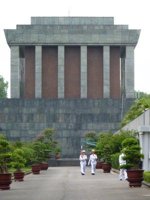 Ho Chi Minh's Mausoleum - Hanoi