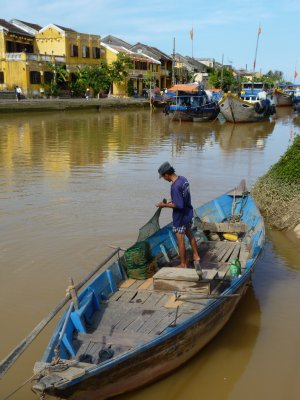 Fisherman in Hoi An