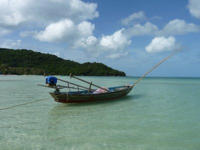Sao Beach - Fishing Boat