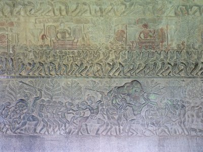 Angkor Wat Carving