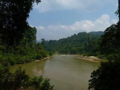 Epic view aong the Tembeling River