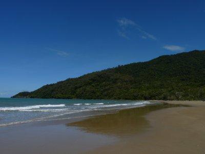 Just one of teh beautiful beaches along the Cape Tribulation coast