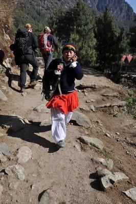 Nepal school girl