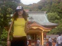 Leah [& Dorith] in Kamakura 2004