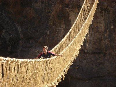 Inca Bridge in Cusco