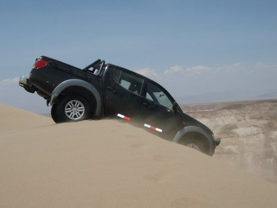 Off road in Peru