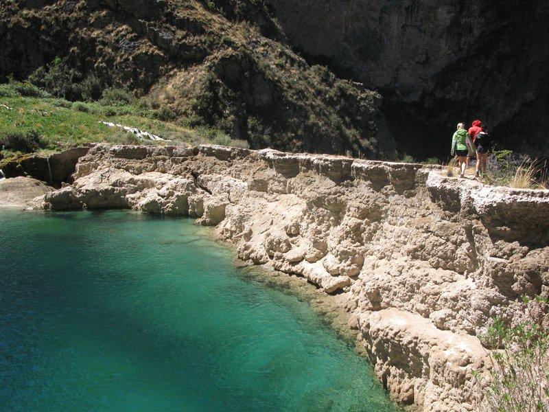 hiking in Huancaya