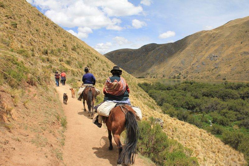 Trekking in Huancaya