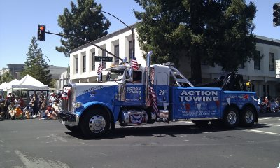 Redwood City - Fourth of July Parade