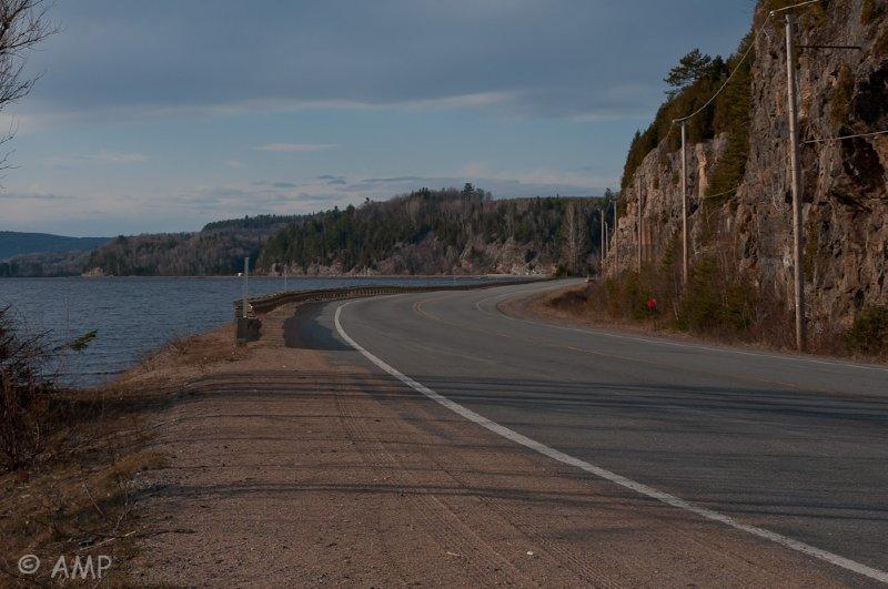Le St-Maurice - La route