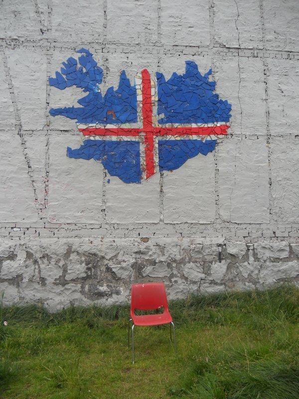 Iceland mosaic