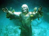 Christ of the Deep Statue,  John Pennekamp State Park, Florida Keys