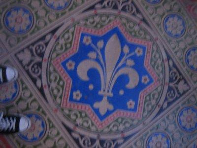 sainte-chapelle floor
