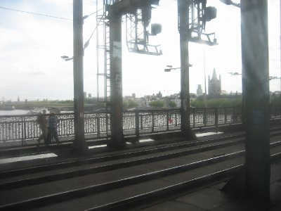 View from the train